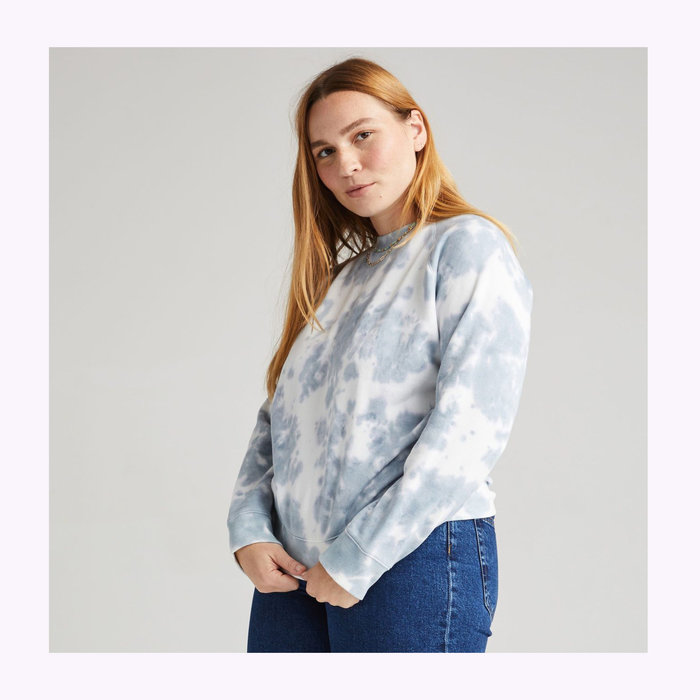 Richer Poorer Crewneck Richer Poorer Bleu Mirage Tie Dye