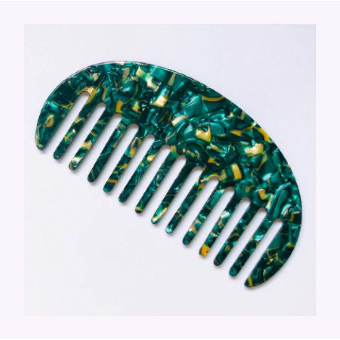 Rainbow Unicorn Curved Comb