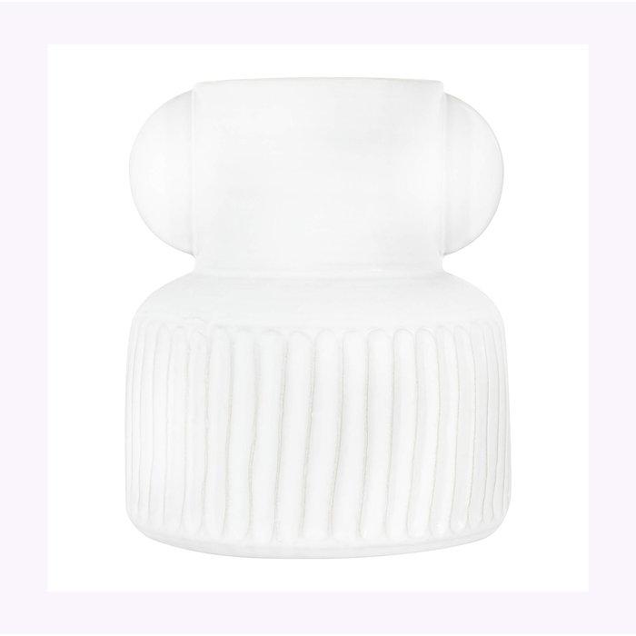 Creative Coop White 4.5'' Vase