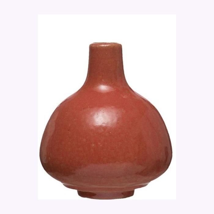 """Creative Coop Creative Coop 3.5"""" Persimmon Vase"""
