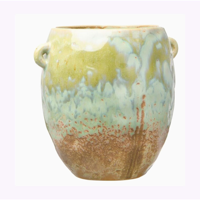 "Creative Coop 6.25"" Opal Planter"
