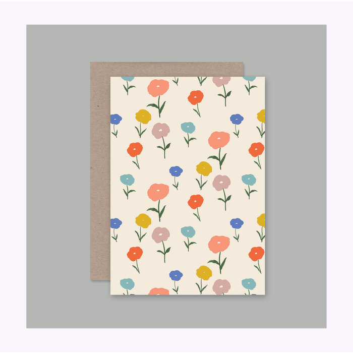 AHD Paper Co. Floral Card