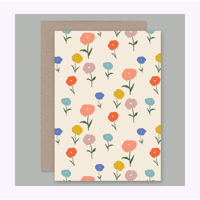 Carte Florale AHD Paper Co.