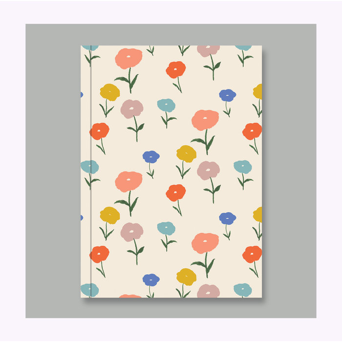 AHD Paper Co. Floral Notebook