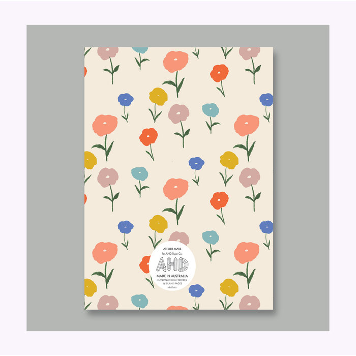 Carnet Floral AHD Paper Co.