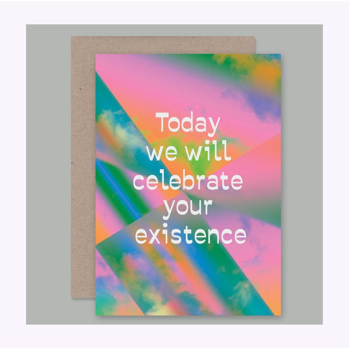 AHD Paper Co. Celebrate Card