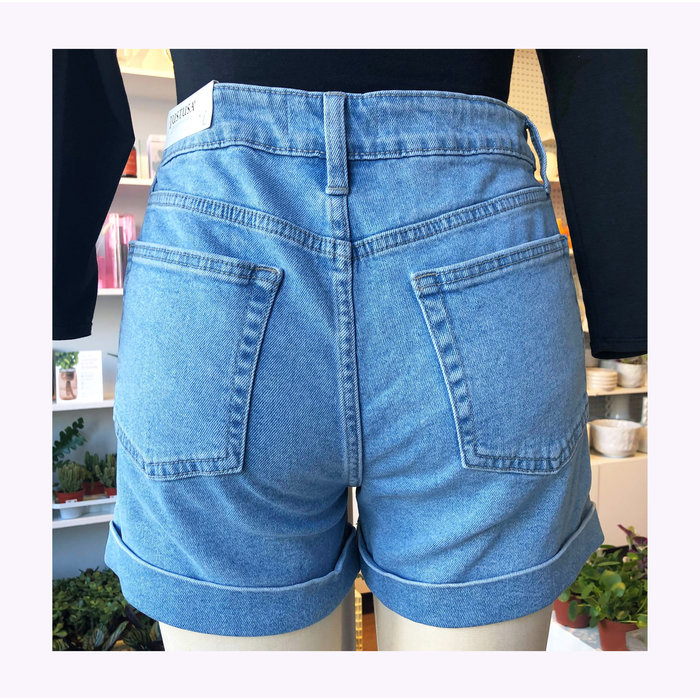 Short Taille haute Bleu Clair JBD