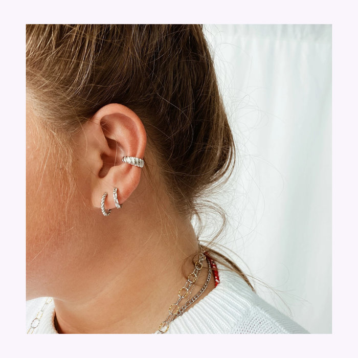 Horace jewelry Ear Cuff Croissant Horace