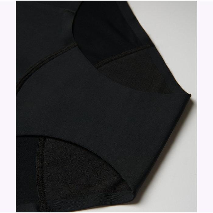 Culotte Menstruelle Noire 2 TamponsTaille Haute Viita