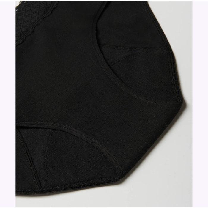 Culotte Menstruelle Noire  8 Tampons Viita