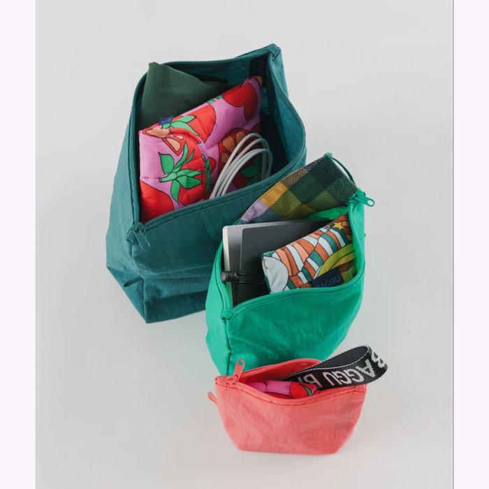 Baggu pochette Baggu Watermelon Slice Pouch L (Emerald)