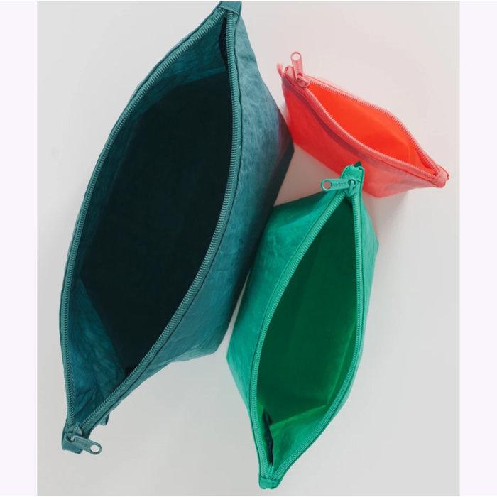 Baggu Watermelon Slice Pouch L (Emerald)