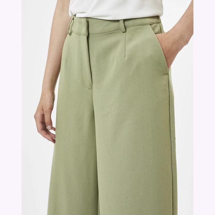 Minimum Pantalon Culota Vert Minimum