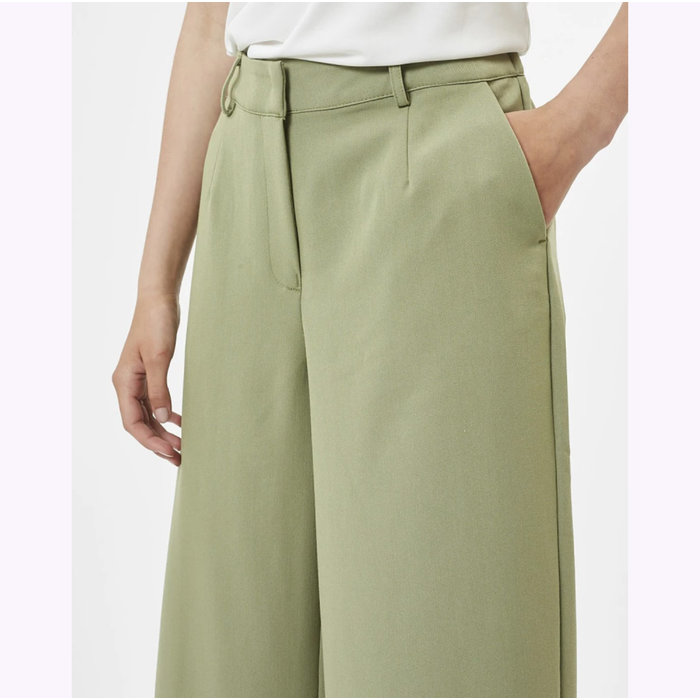 Pantalon Culota Vert Minimum