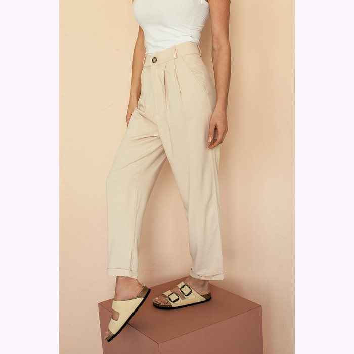 Dailystory Pantalon Amy Beige Dailystory