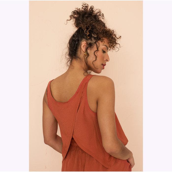 Dailystory Burnt Orange Gisèle Shorts