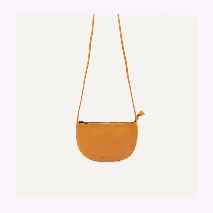 Monk & Anna Monk & Anna Half Moon Honey Farou Handbag