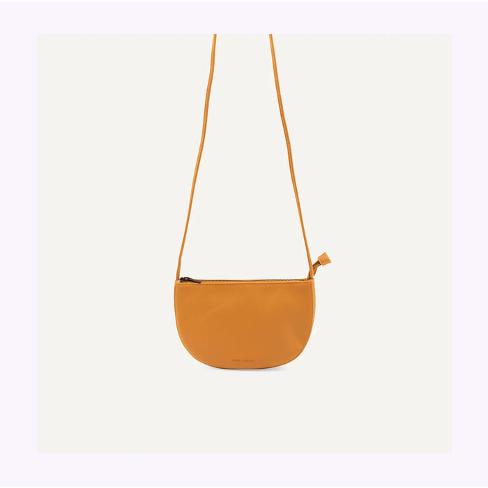 Monk & Anna Half Moon Honey Farou Handbag
