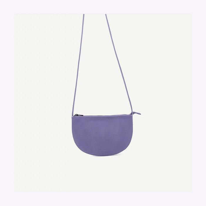 Monk & Anna Monk & Anna Half Moon Lilac Farou Handbag