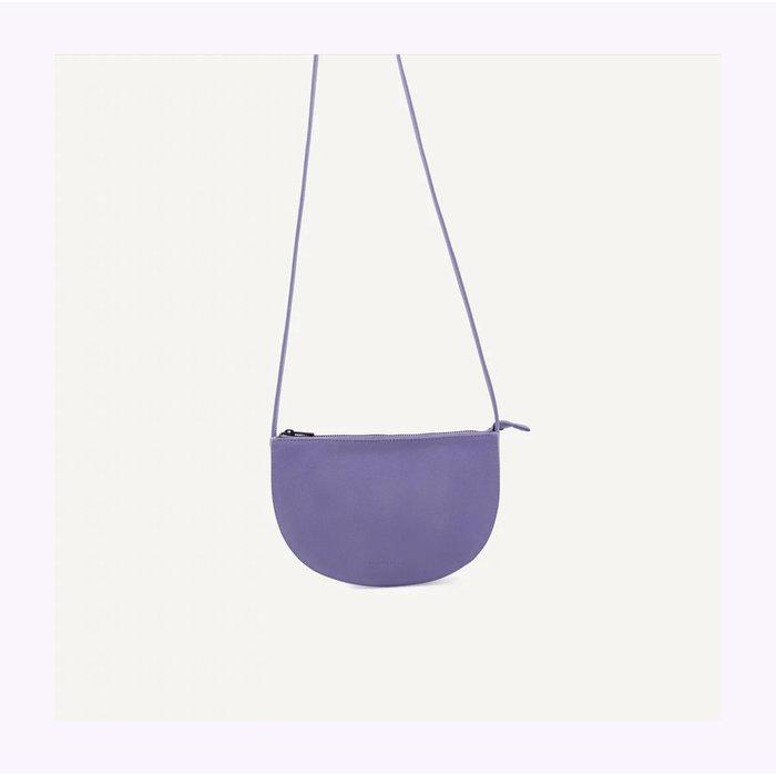 Monk & Anna Half Moon Lilac Farou Handbag