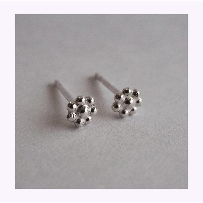 Boucles d'oreilles Mini Fleurs Marmod8
