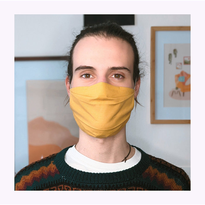 L'orange Brulée Face Mask