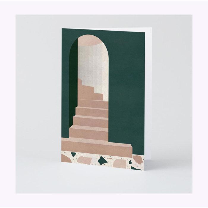 Wrap Green Doorway Card