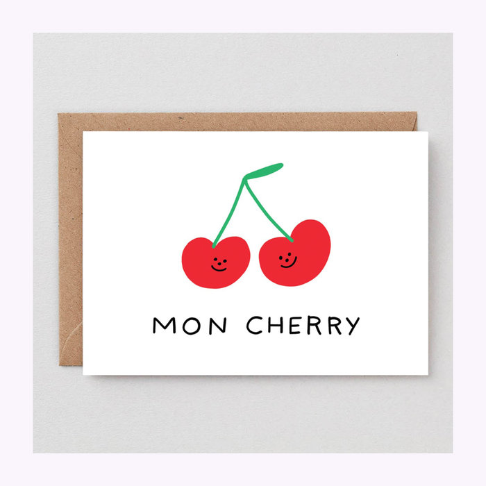 WRAP Carte Mon Cherry Wrap