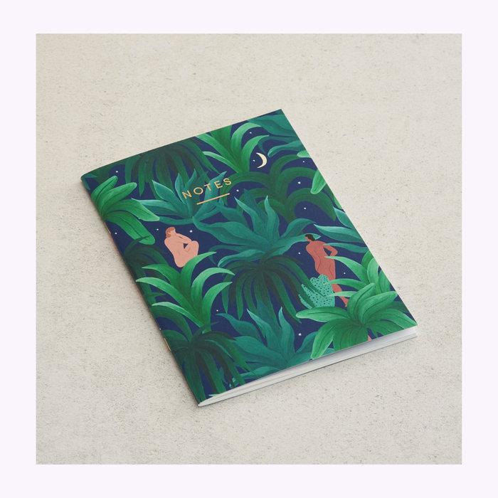 WRAP Magazine Wrap Night Jungle Notebook