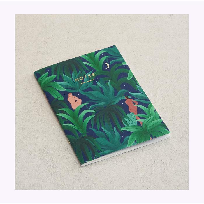 Wrap Night Jungle Notebook