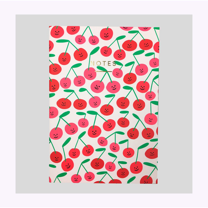 Wrap Cherries Notebook