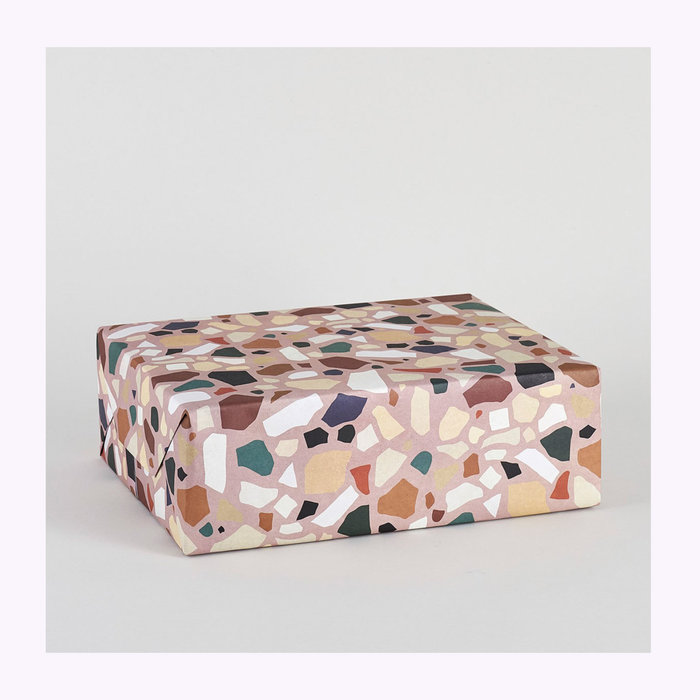 WRAP Wrap Terrazzo Wrapping Paper