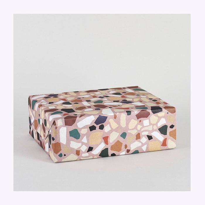WRAP Wrap Terrazzo Wrapping Paper