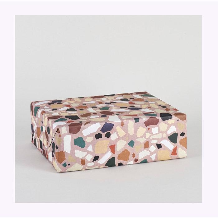 Wrap Terrazzo Wrapping Paper