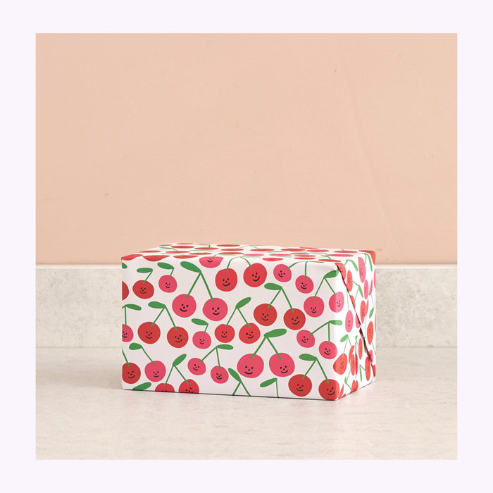 WRAP Wrap Cherries Wrapping Paper