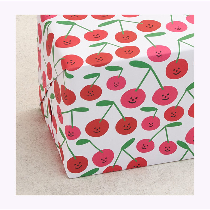 Wrap Cherries Wrapping Paper