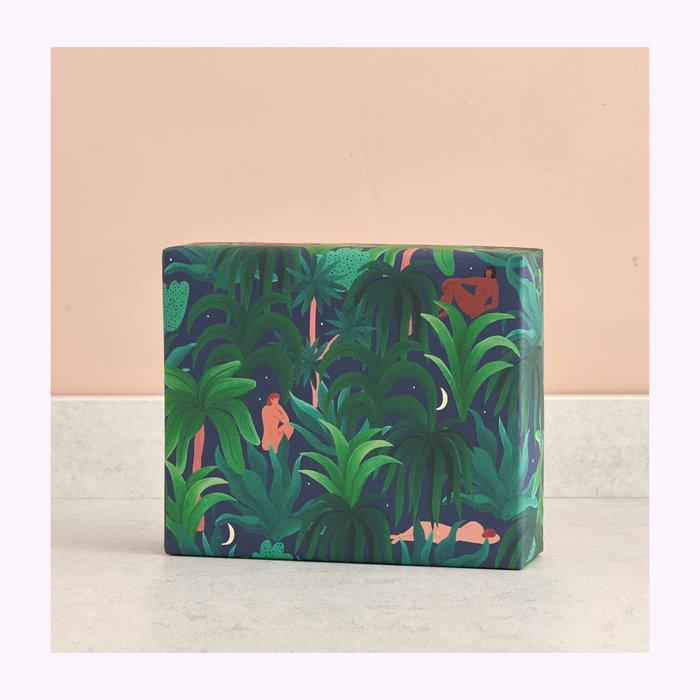 WRAP Papier d'emballage Night Jungle Wrap
