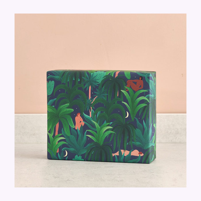 WRAP Wrap Night Jungle Wrapping Paper
