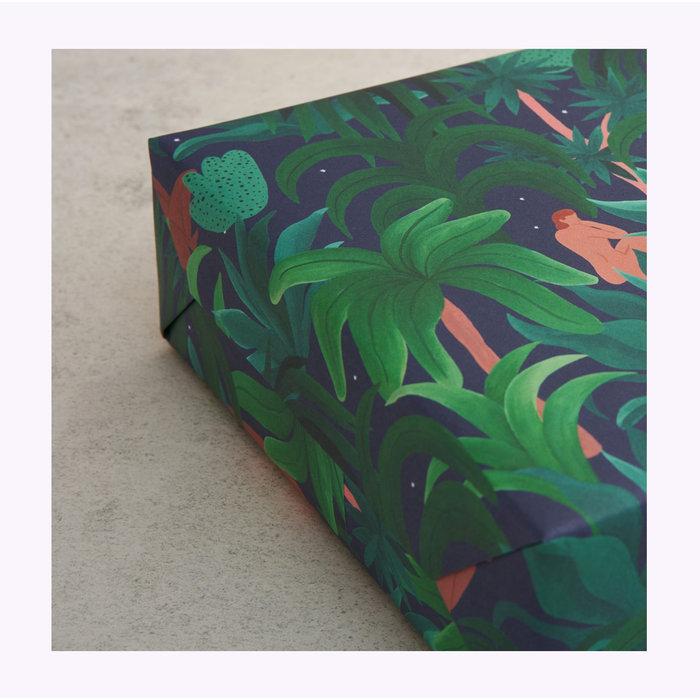 Papier d'emballage Night Jungle Wrap