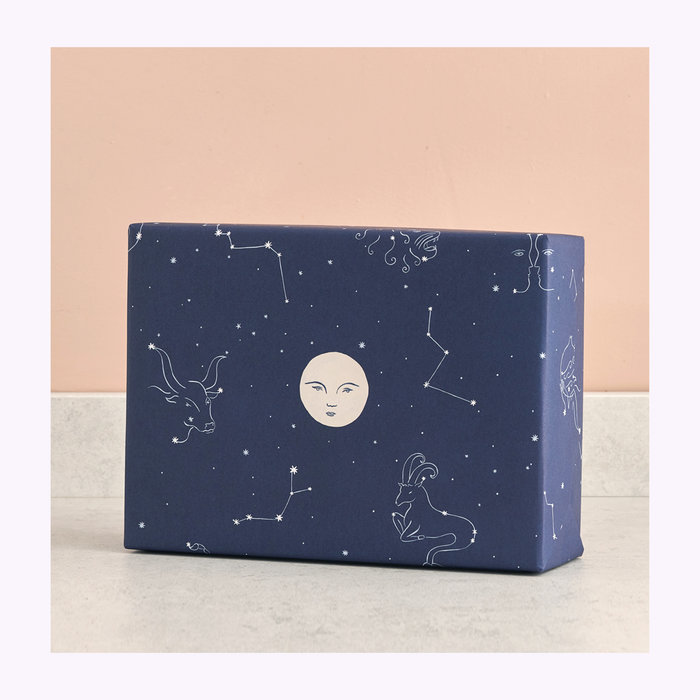 WRAP Magazine Wrap Starry Night Wrapping Paper