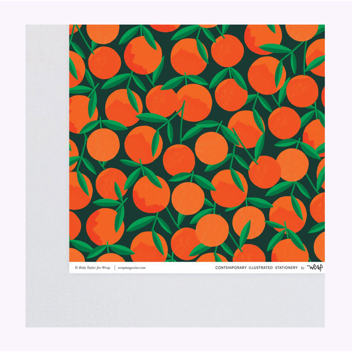 Wrap Clementines Wrapping Paper