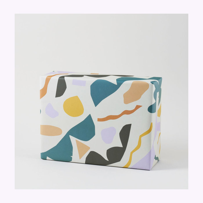 WRAP Magazine Wrap Jubilee Wrapping Paper