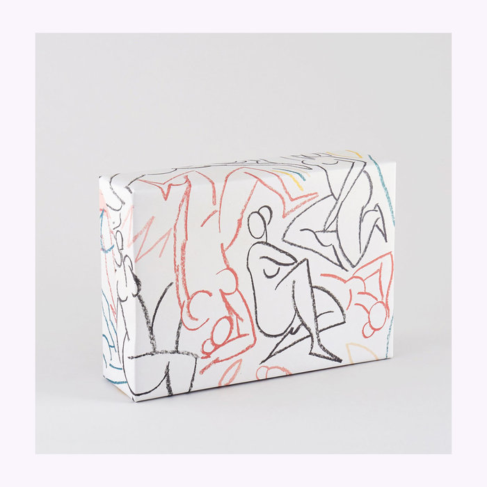 WRAP Magazine Wrap Nudes Wrapping Paper