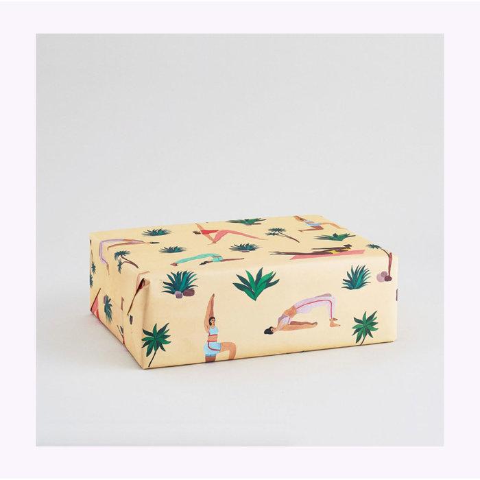 Papier d'emballage Yoga Wrap