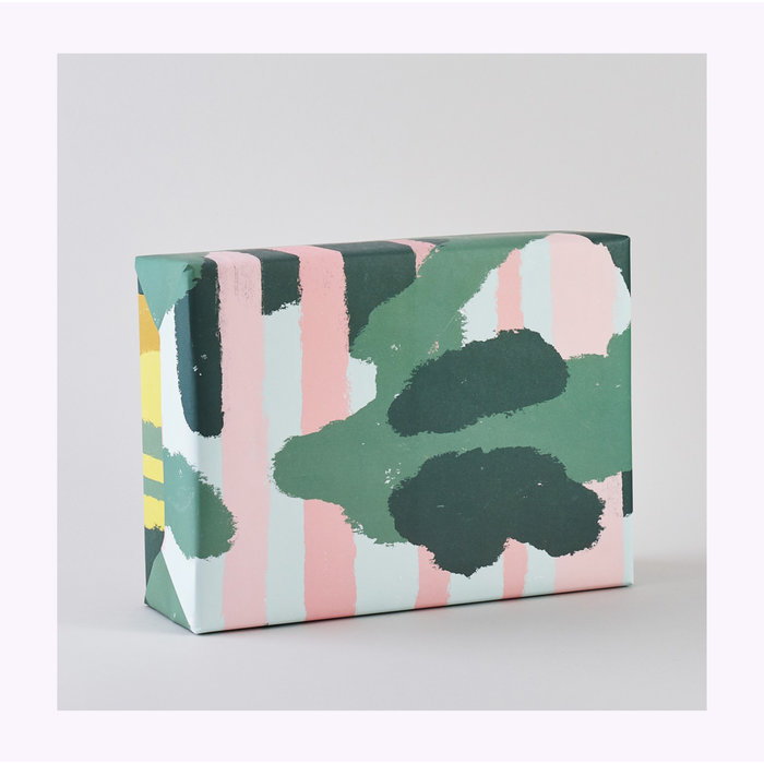 Wrap Pink Forest Wrapping Paper