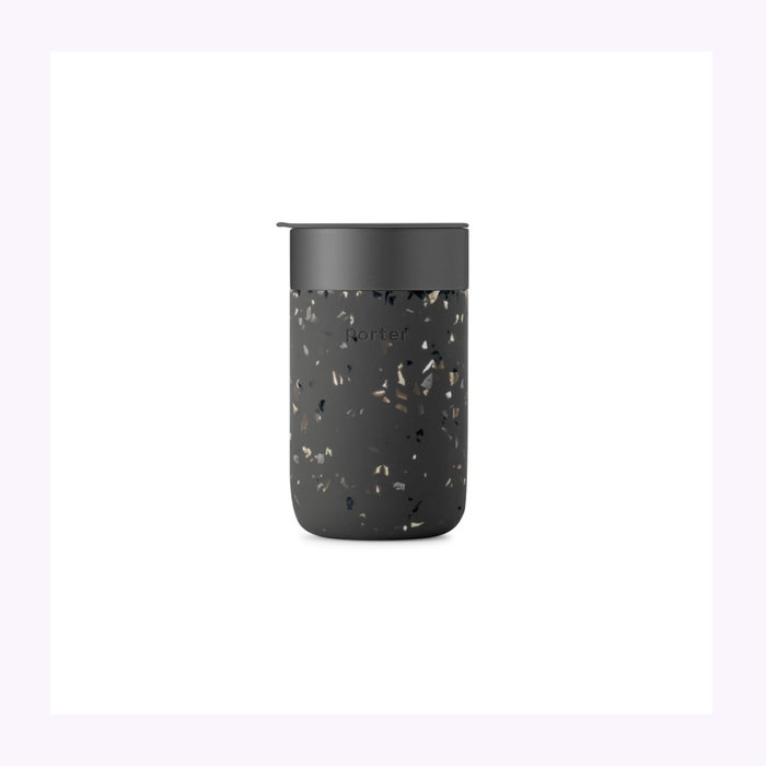 W&P W&P Charcoal Terrazzo Travel Cup 16oz