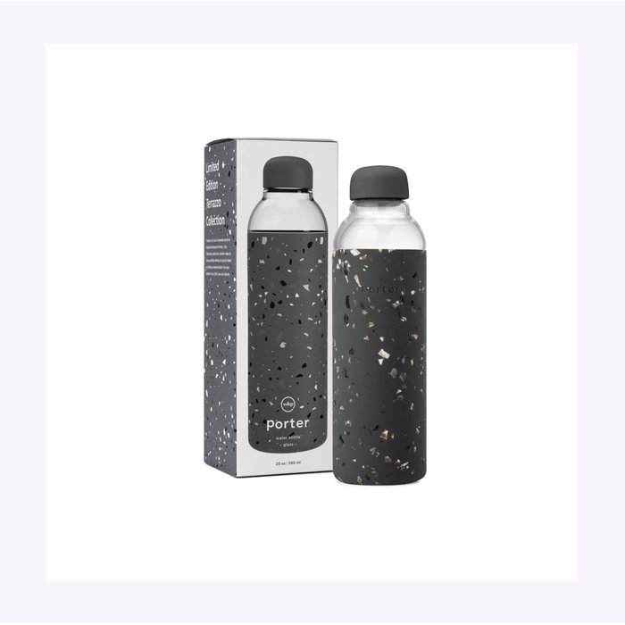 Bouteille W&P terrazzo Charcoal