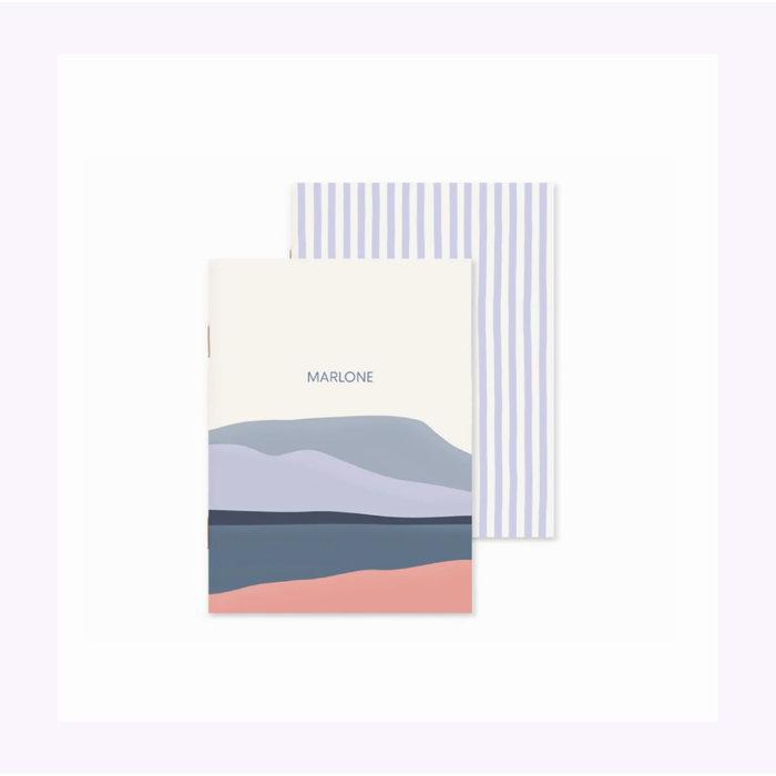 Marlone Landscape Notebook Duo