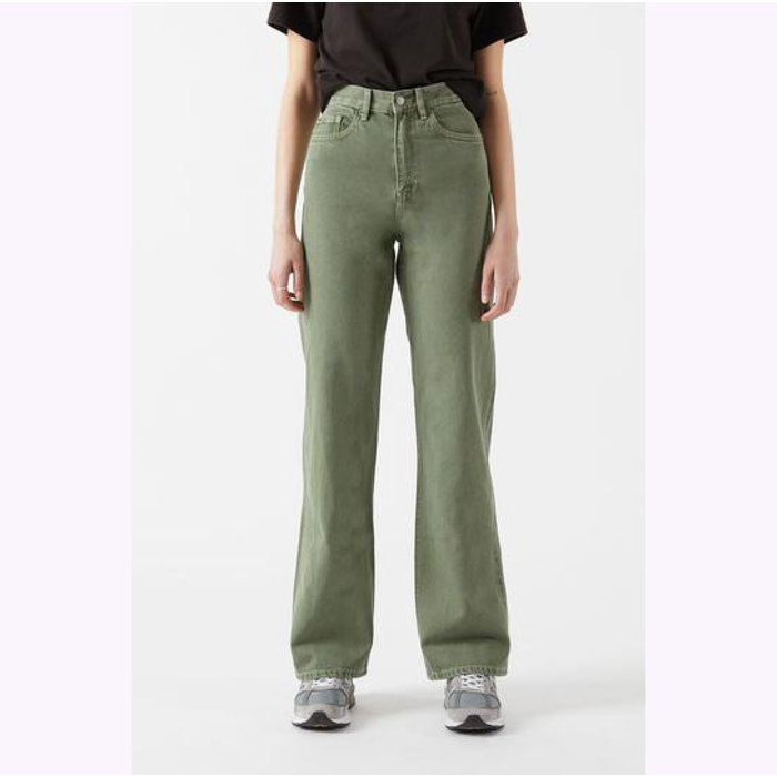 Dr Denim Washed Green Echo Jeans