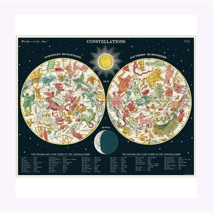 Cavallini Constellations Puzzle
